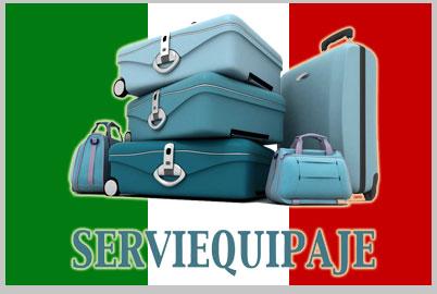 d03c6ec32 Transporta tus maletas a Italia con Serviequipaje.com ...